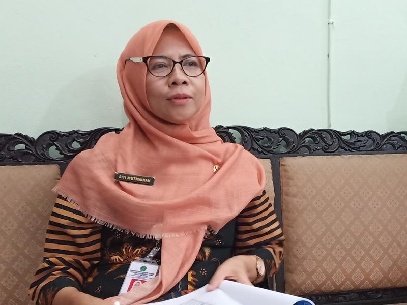 Kasi Pendidik dan Tenaga Pendidikan, Bidang Pididikan Madrasah Kanwil Kemenag jateng, Siti Mutmainah. Medcom.id/Budi Arista Romadhoni