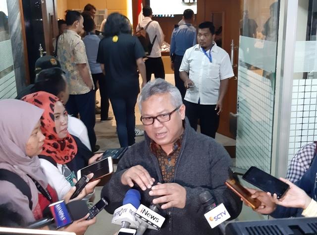 Ketua Komisi Pemilihan Umum (KPU) Arief Budiman--Medcom.id/Whisnu Mardiansyah.