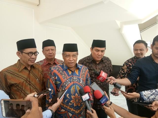 Ketua Umum Pengurus Besar Nahdlatul Ulama (PBNU) Said Aqil Siradj--Medcom.id/Muhammad Al Hasan.