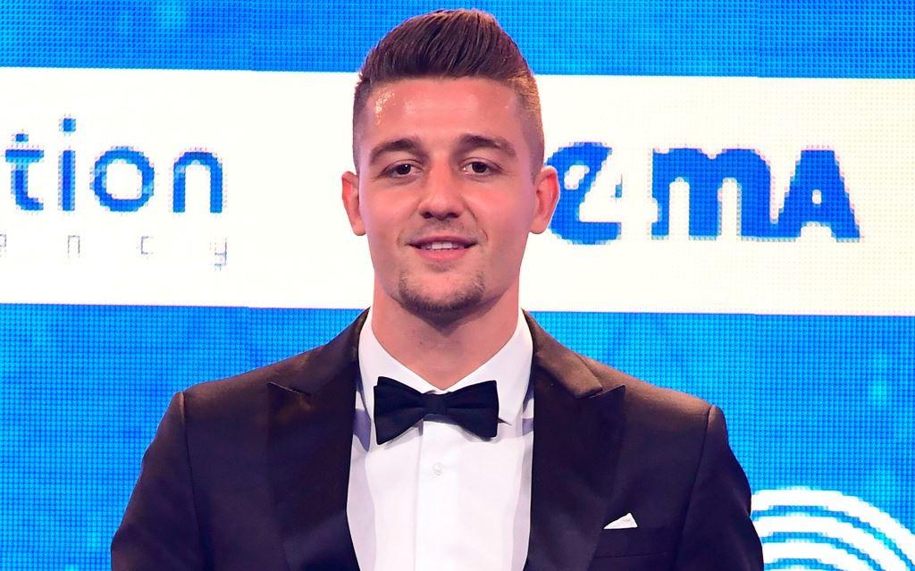 Sergej Milinkovic-Savic terpilih sebagai gelandang terbaik Serie A Italia (AFP/Miguel Medina)