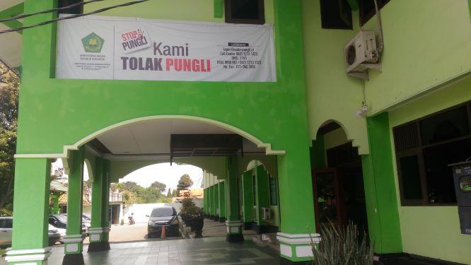 Gedung Kanwil Kemenag Jawa Tengah, Medcom.id/Mustholih.