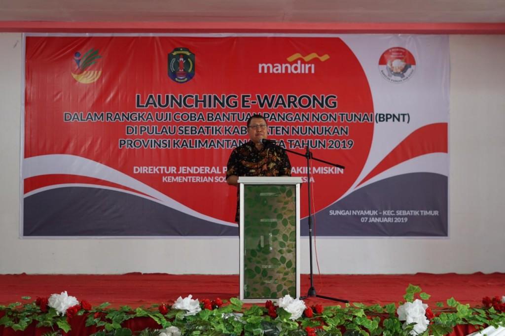 Direktorat Jenderal Penanganan Fakir Miskin Kementerian Sosial Andi ZA Dulung. (Foto: Dok.)