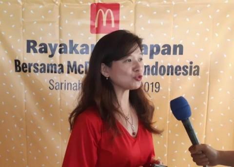 """""""Sejak tahun 2011, McDonald's Indonesia selalu menawarkan"""