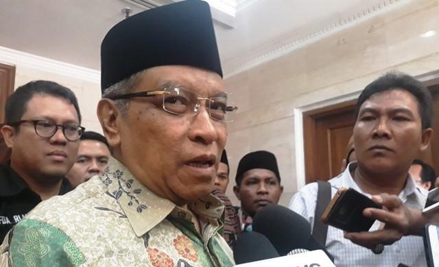 Ketua Umum Pengurus Besar Nahdlatul Ulama (PBNU) Said Aqil Siraj. Foto:Medcom.id/Krispen.