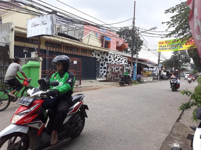 Lokasi pembacokan di Depok, Jawa Barat. Medcom.id/Octavianus Dwi Sutrisno
