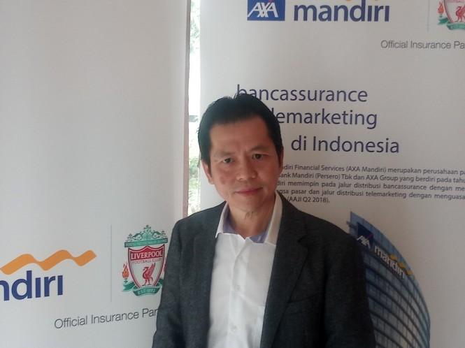 Presiden Direktur AXA Mandiri Handojo G Kusuma (Foto: Medcom.id/Nia Deviyana)