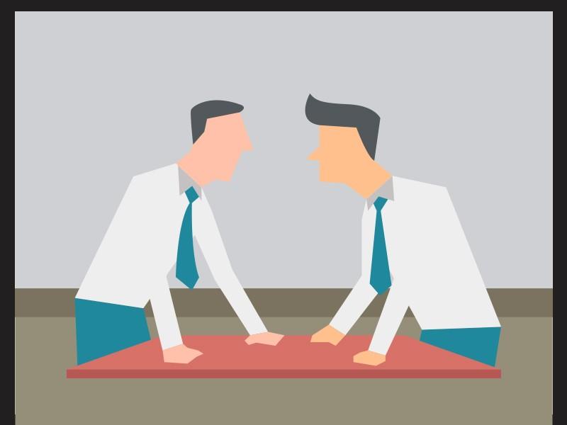 Debat. Ilutrasi: Medcom.id/Mohammad Rizal.