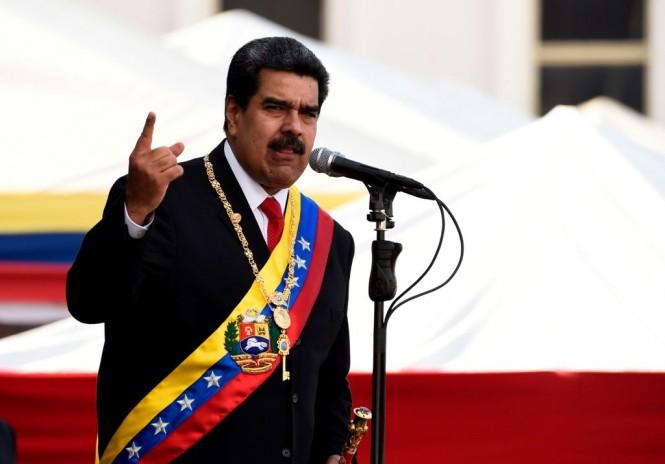 Nicolas Maduro dilantik jadi Presiden Venezuela untuk kedua kalinya. (Foto: AFP)