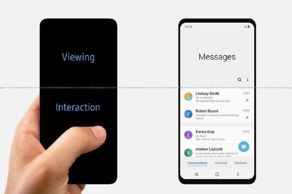 Samsung tidak sengaja menyematkan gambar Galaxy S10 versi reguler di unggahan blog soal One UI.
