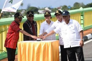 Menkeu Kembali Resmikan Proyek yang Didanai Sukuk di Maluku