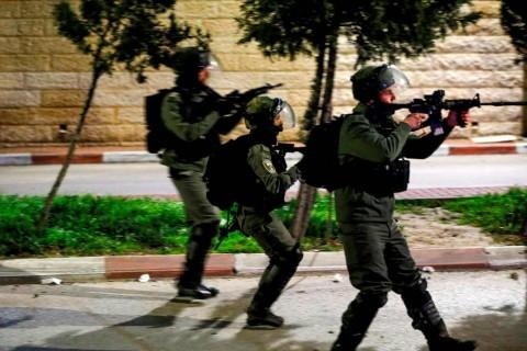 Tentara Israel ketika melancarkan serangan. (Foto: AFP)