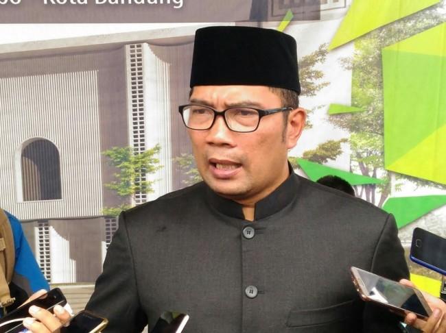 Gubernur Jawa Barat, Ridwan Kamil. Medcom.id/Roni Kurniawan