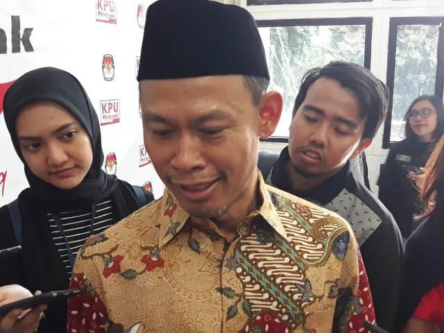 Komisioner KPU Pramono Ubaid Tanthowi--Medcom.id/Siti Yona Hukmana
