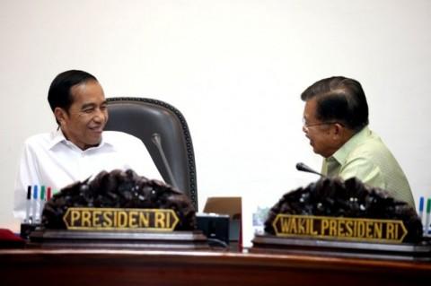 Presiden Joko Widodo dan Wakil Presiden Jusuf Kalla. Foto: