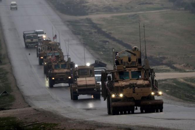Pasukan AS yang berada di Suriah. (Foto: AFP)