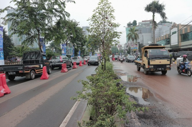 Suasana pemberlakuan contraflow di sekitar Kalimalang dari arah Jakarta menuju Bekasi, Jumat 30 November 2018, Medcom.id - Antonio