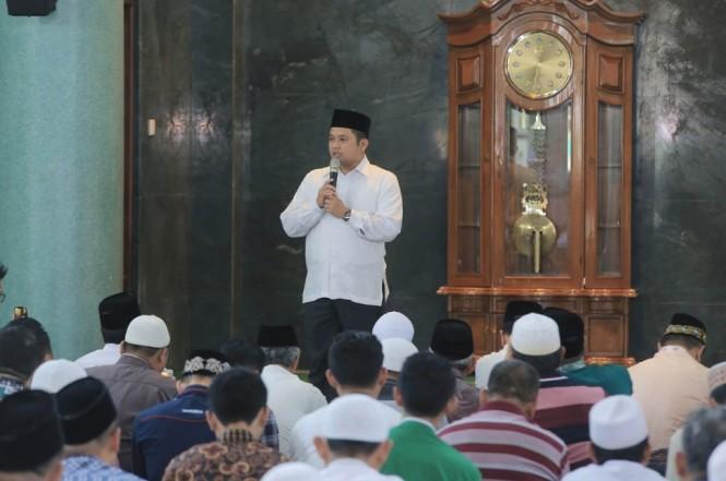 Wali Kota Tangerang Arief E Wismansyah merilis Tangerang Bersedekah Online, Jumat 11 Januari 2019, Medcom.id - Hendrik