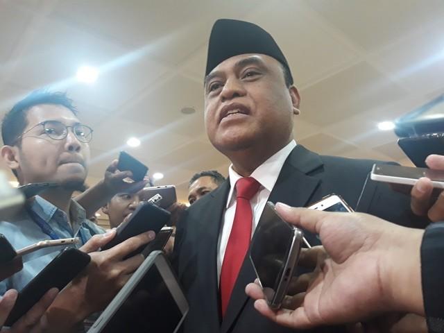Menteri Pendayagunaan Aparatur Negara dan Reformasi Birokrasi (Menpan RB) Syafruddin. Foto: Sunnaholomi Halakrispen/Medcom.id.