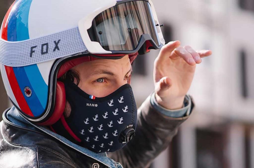 R-Pur diklaim mampu menyaring polusi udara bagi bikers yang beraktifitas di dalam kota. R-Pur