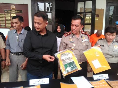 7 Pengedar dan Pengguna Narkoba Ditangkap di Bandung