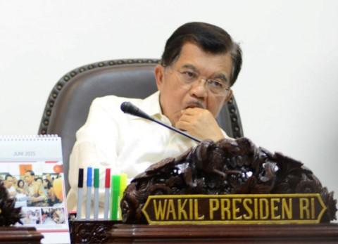Wakil Presiden Jusuf Kalla (MI/PANCA SYURKANI)