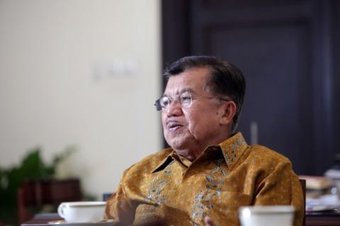 Wakil Presiden Jusuf Kalla. (FOTO: MI/Panca Syurkani)