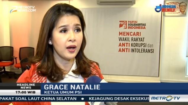 Ketua Umum PSI Grace Natalie.
