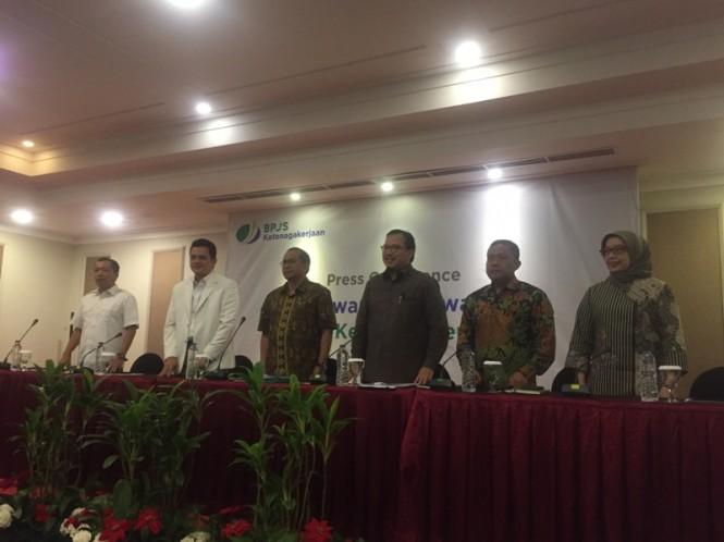 Konferensi pers BPJS Ketenagakerjaan terkait dugaan asusila anggotanya - Medcom.id