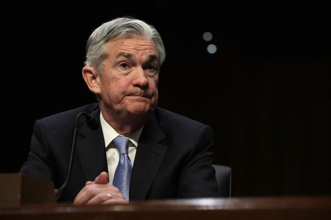 Ketua The Fed Jerome Powell (Alex Wong/AFP)
