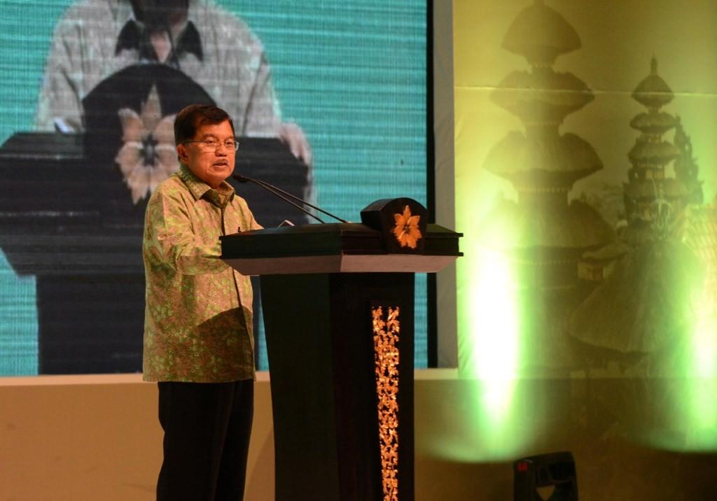 Wakil Presiden Jusuf Kalla (AFP PHOTO/SONNY TUMBELAKA)