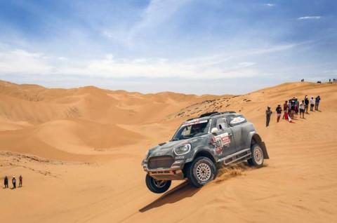 Setelah menjalani lima etape para peserta Dakar Rally akan