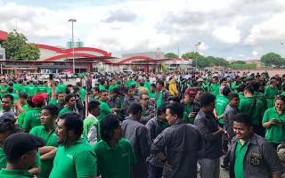 Ribuan Pengemudi Ojek Daring Menghadiri Silaturahmi Nasional