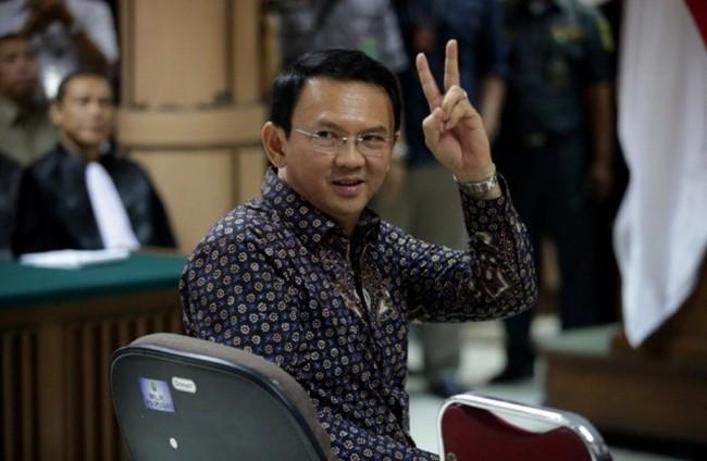 Mantan Gubernur DKI Jakarta Basuki Tjahaja Purnama (Ahok). Foto: Antara/Bagus Indahon.