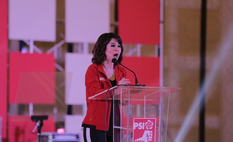 Ketua Umum Partai Solidaritas Indonesia (PSI) Grace Natalie. Medcom.id/Roni Kurniawan
