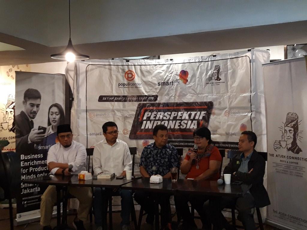 Diskusi 'Kampus dan Pemilu 2019' - Medcom.id/Intan Yunelia.