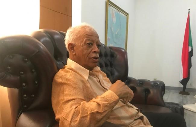 Sudanese Ambassador to Indonesia Elsiddieg Abdulaziz Abdalla (Photo: Medcom.id/Fajar)