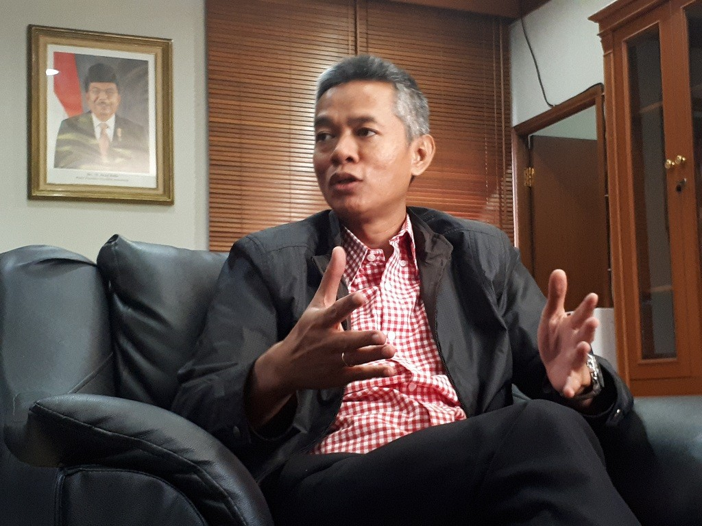 Komisioner KPU, Wahyu Setiawan - Medcom.id/Faisal Abdalla.