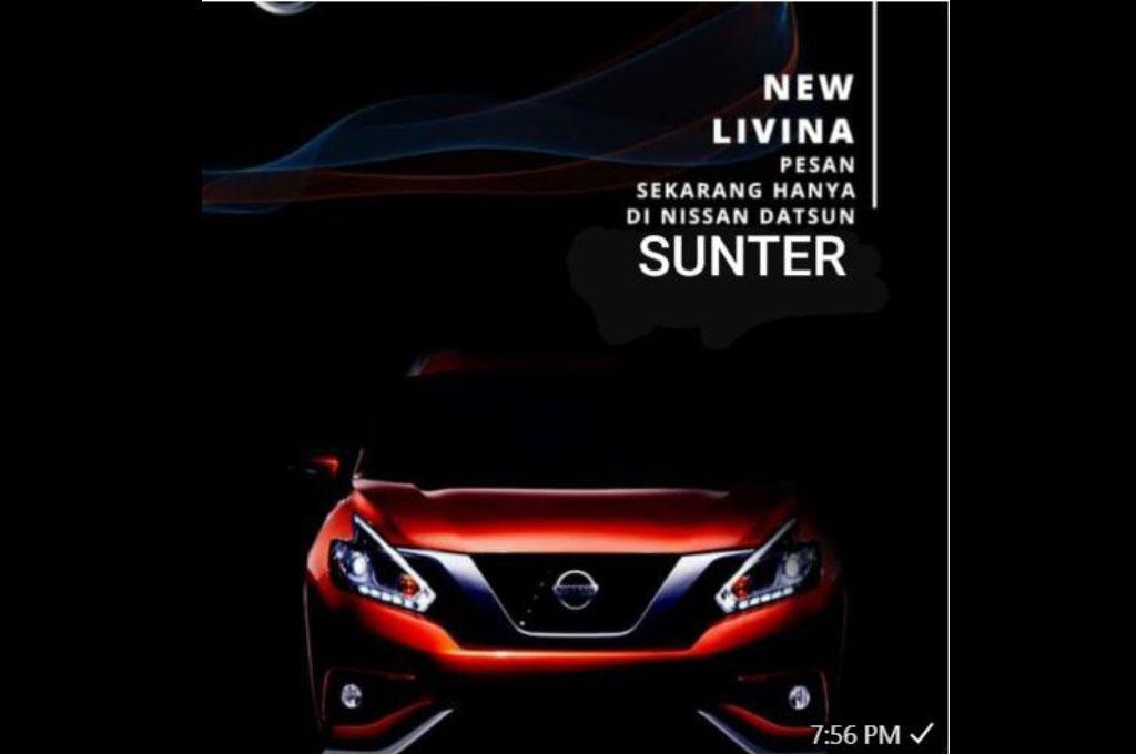 Nissan Livina baru akan hadir pada Maret 2019. Facebook.com/Nissan Livina Club
