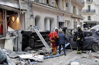 Ledakan Besar di Paris Lukai Sejumlah Orang