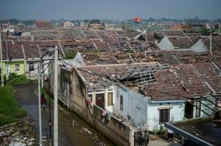 80 Korban Puting Beliung Rancaekek Bertahan di Pengungsian