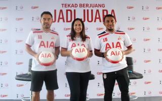 Perjuangan Tim AIA Indonesia Dikawal Para Legenda