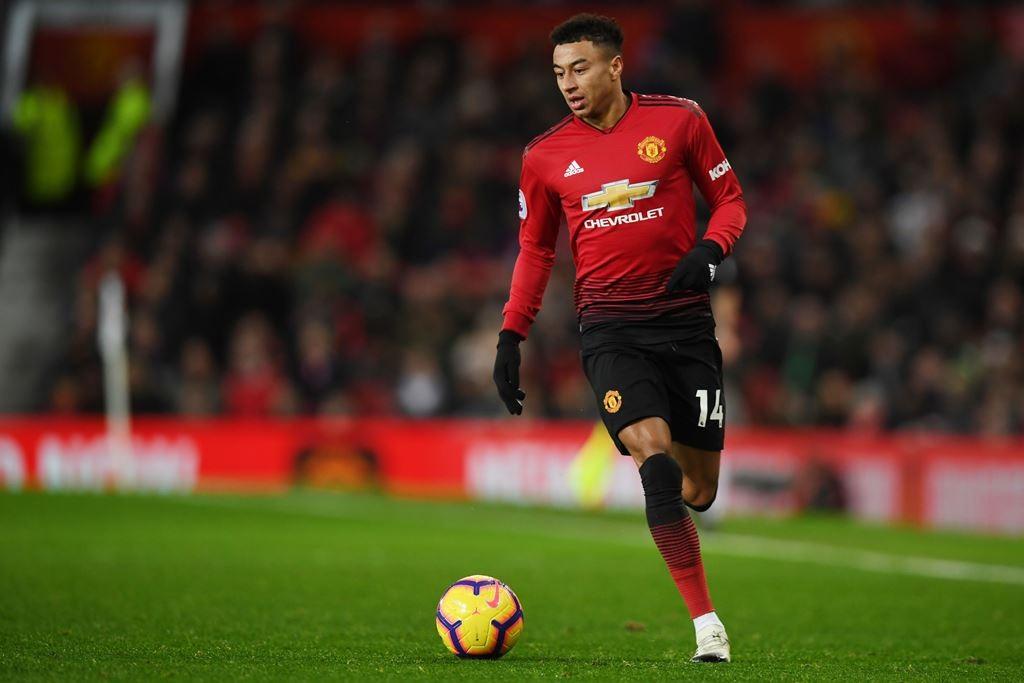 Gelandang Manchester United, Jesse Lingard (AFP/Paul Ellis)