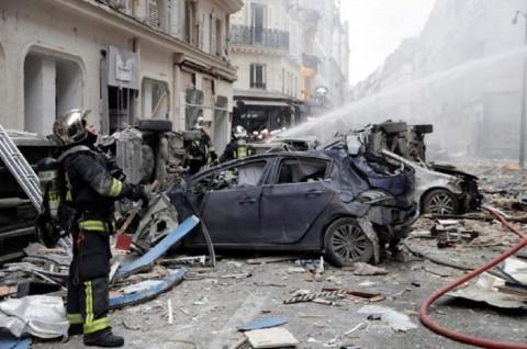 Ledakan di Toko Roti Paris Tewaskan Tiga Orang
