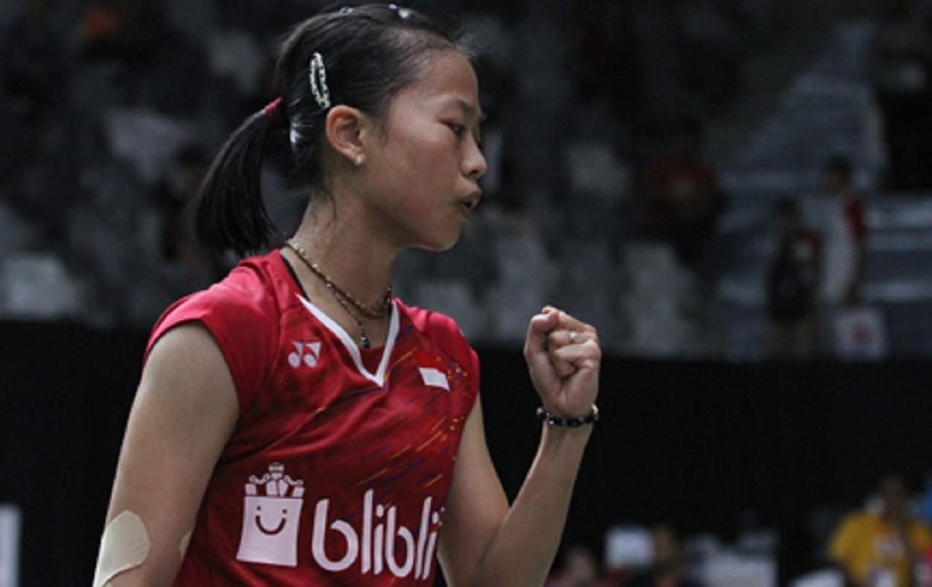 Pebulu tangkis tunggal putri Indonesia, Fitriani (Dok. PBSI)