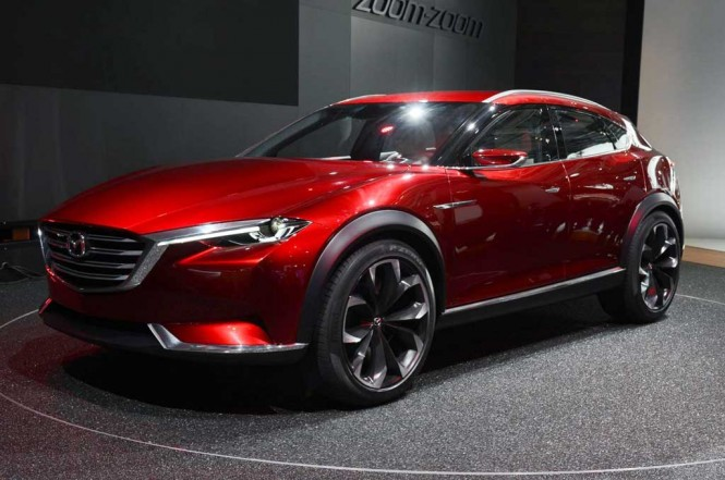Mazda Koeru concept kemungkinan bakal meriahkan Geneva International Motor Show 2019. Carscoops
