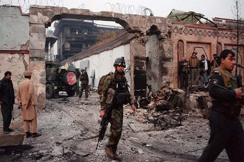 Belum ada yang mengklaim bertanggung jawab atas serangan di kantor polisi Herat, Afghanistan, 12 Januari 2019. (Foto: AFP)