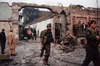 Serangan di Kantor Polisi Afghanistan Tewaskan 5 Orang