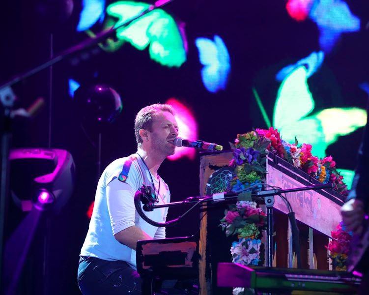Vokalis Coldplay, Chris Martin (Foto: RONNY HARTMANN/AFP)