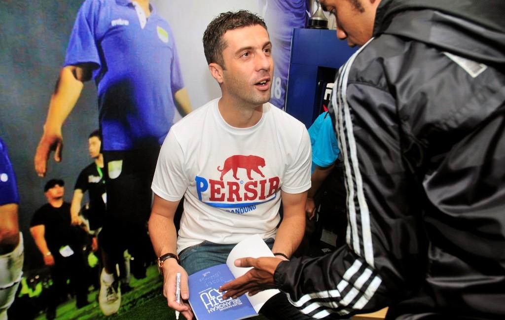 Miljan Radovic (Foto: ANTARA/Agus Bebeng)