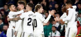 Kalahkan Real Betis, Madrid Tembus Empat Besar